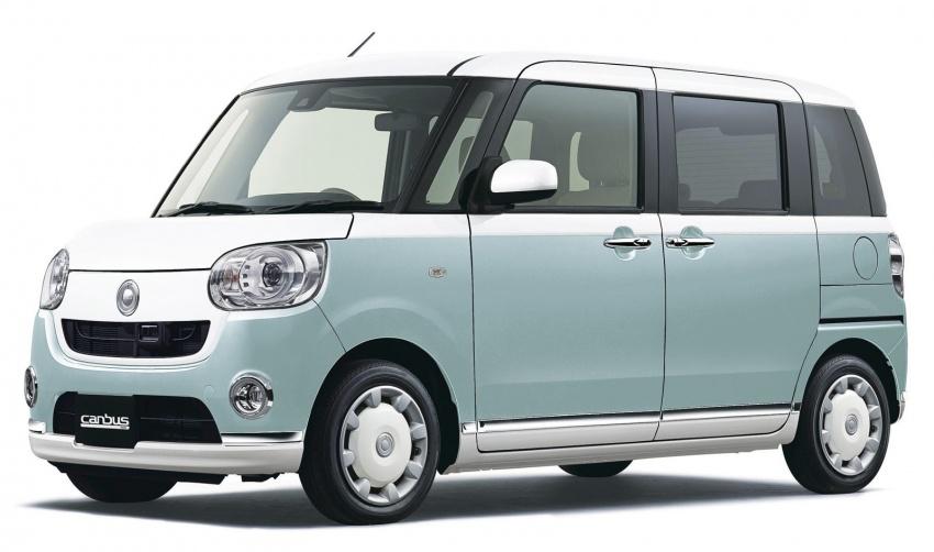 Daihatsu Move Canbus – Kei-Car comel untuk wanita Image #547279