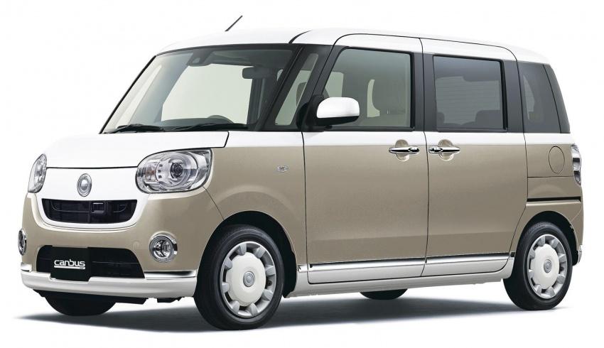 Daihatsu Move Canbus – Kei-Car comel untuk wanita Image #547277