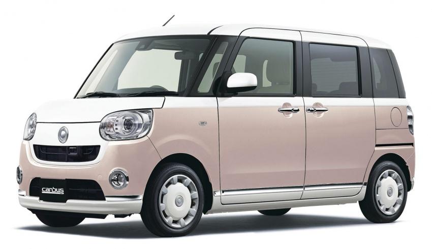 Daihatsu Move Canbus – Kei-Car comel untuk wanita Image #547276