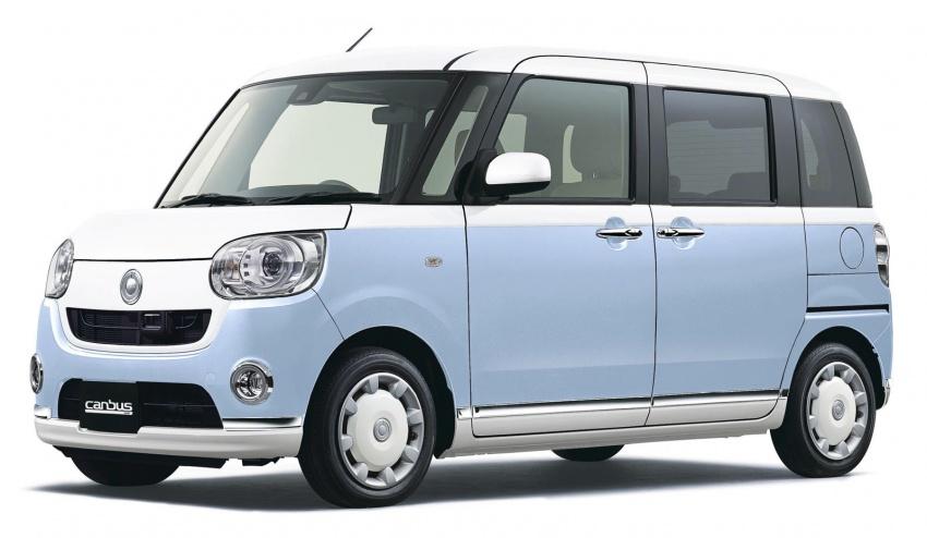 Daihatsu Move Canbus – Kei-Car comel untuk wanita Image #547275