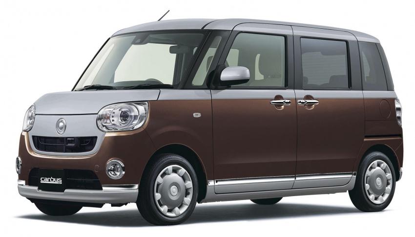 Daihatsu Move Canbus – Kei-Car comel untuk wanita Image #547273
