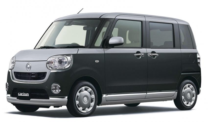 Daihatsu Move Canbus – Kei-Car comel untuk wanita Image #547272