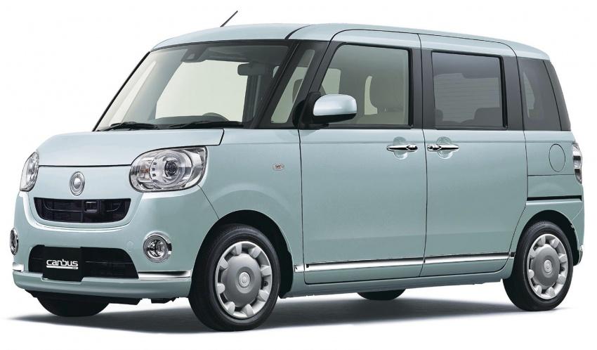 Daihatsu Move Canbus – Kei-Car comel untuk wanita Image #547271