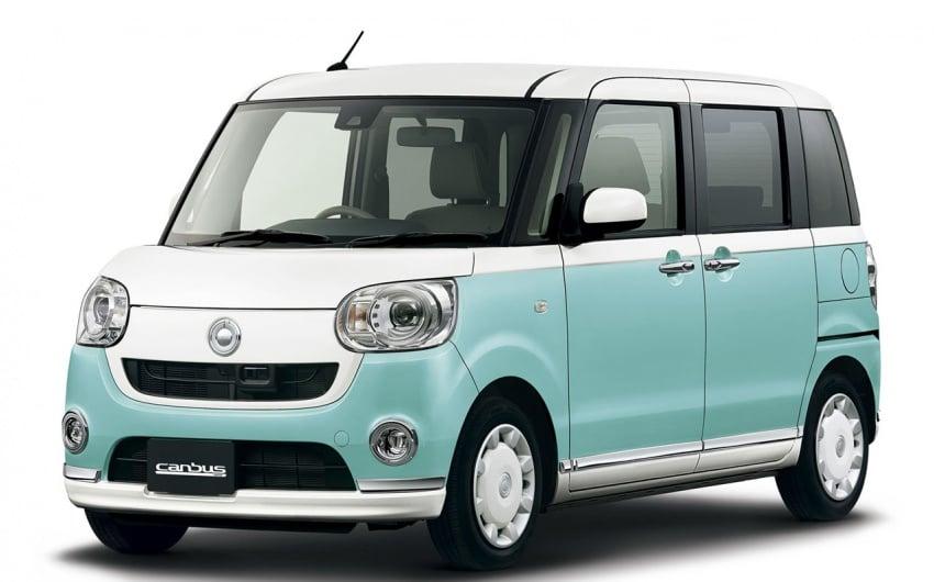 Daihatsu Move Canbus – Kei-Car comel untuk wanita Image #547270
