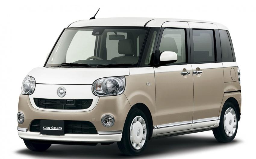 Daihatsu Move Canbus – Kei-Car comel untuk wanita Image #547268