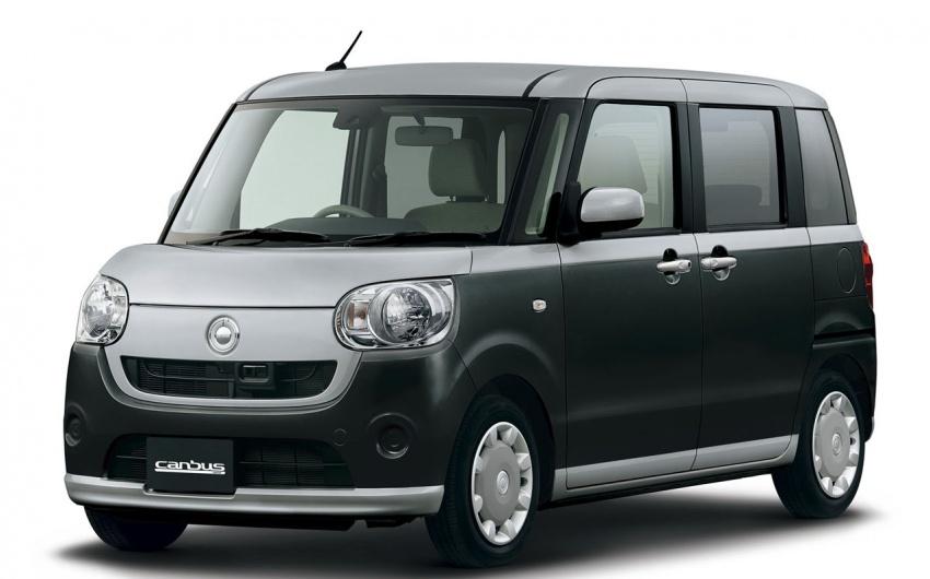 Daihatsu Move Canbus – Kei-Car comel untuk wanita Image #547265