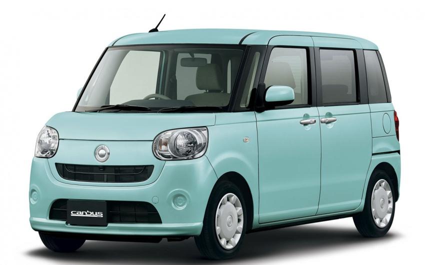 Daihatsu Move Canbus – Kei-Car comel untuk wanita Image #547264