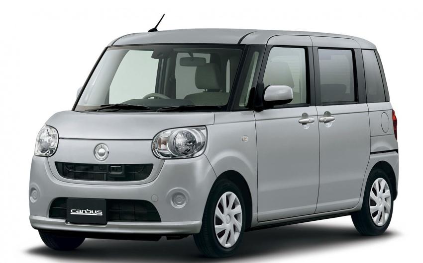 Daihatsu Move Canbus – Kei-Car comel untuk wanita Image #547263