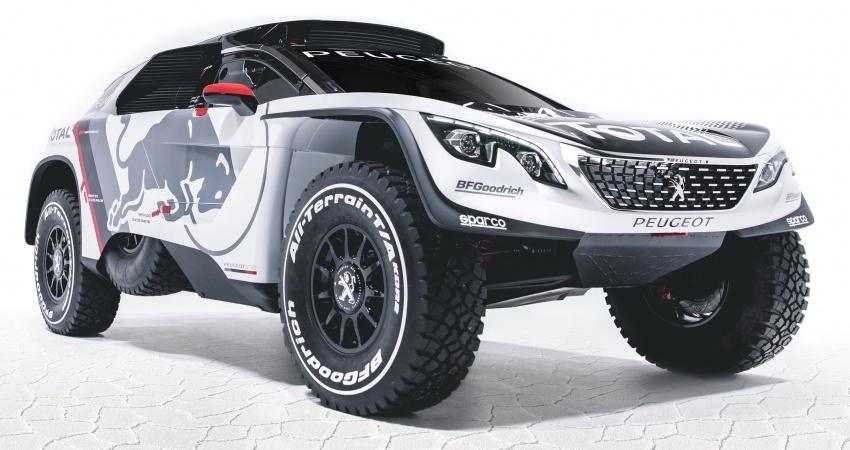 Peugeot perkenal 3008 DKR untuk sahut cabaran Rali Dakar 2017 – enjin 3.0 liter V6 Turbodiesel dikekalkan Image #548925