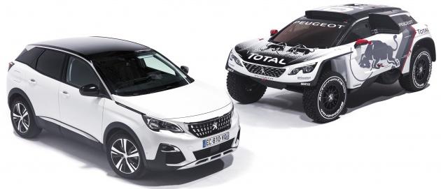 Peugeot perkenal 3008 DKR untuk sahut cabaran Rali Dakar 2017 – enjin 3.0 liter V6 Turbodiesel dikekalkan Image #548927