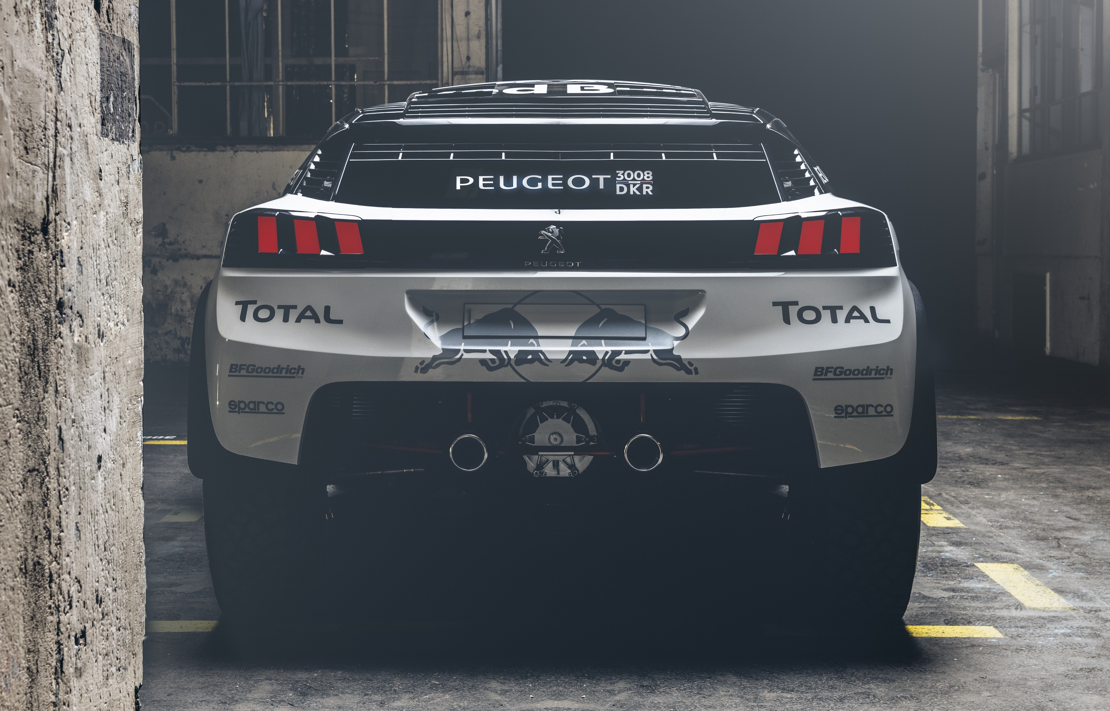 Peugeot 3008 Dkr To Lead 2017 Dakar Rally Campaign Image