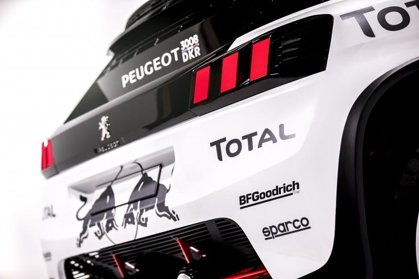 Peugeot perkenal 3008 DKR untuk sahut cabaran Rali Dakar 2017 – enjin 3.0 liter V6 Turbodiesel dikekalkan Image #548931