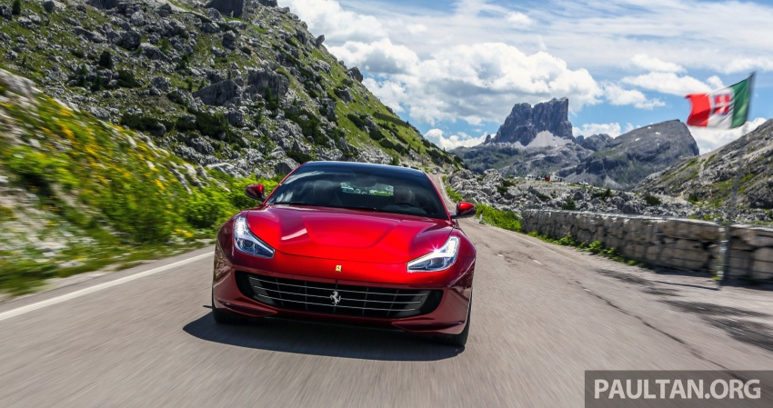 DRIVEN: Ferrari GTC4Lusso in Italy – refining the act Image #554703