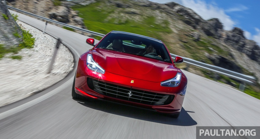 DRIVEN: Ferrari GTC4Lusso in Italy – refining the act Image #554704