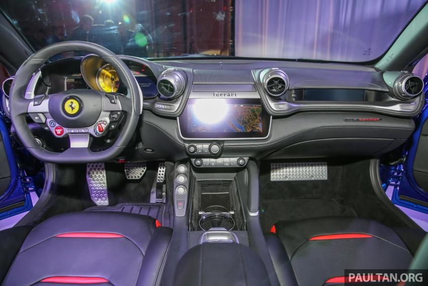 Ferrari GTC4Lusso T diperkenalkan di Malaysia – 3.9L V8 Turbo, 601 hp/760 Nm, harga asas bermula RM1.09j Image #556486