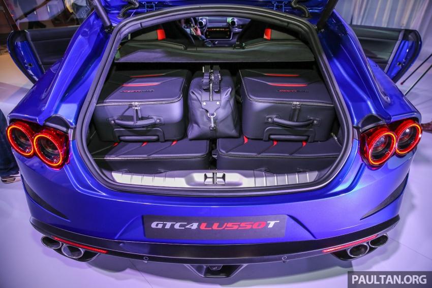 Ferrari GTC4Lusso T diperkenalkan di Malaysia – 3.9L V8 Turbo, 601 hp/760 Nm, harga asas bermula RM1.09j Image #556472