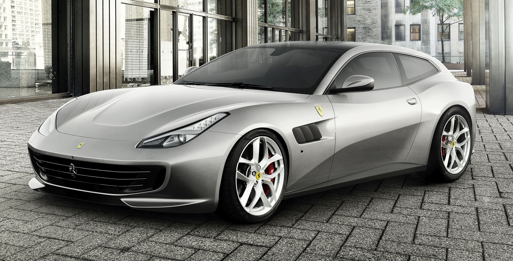 Ferrari Gtc4lusso T The Four Seater Goes V8 Turbo Image