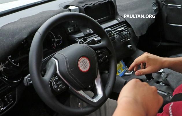 G32 BMW 5 Series GT spyshots 7