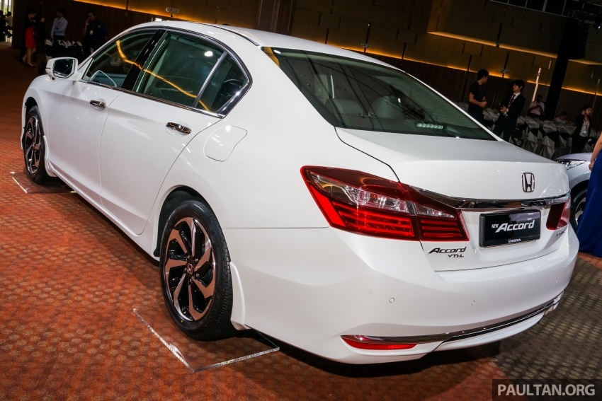 2016 Honda Accord facelift now in M'sia, from RM145k – 2.4 VTi-L now RM5k cheaper, 6 airbags across range Image #546322
