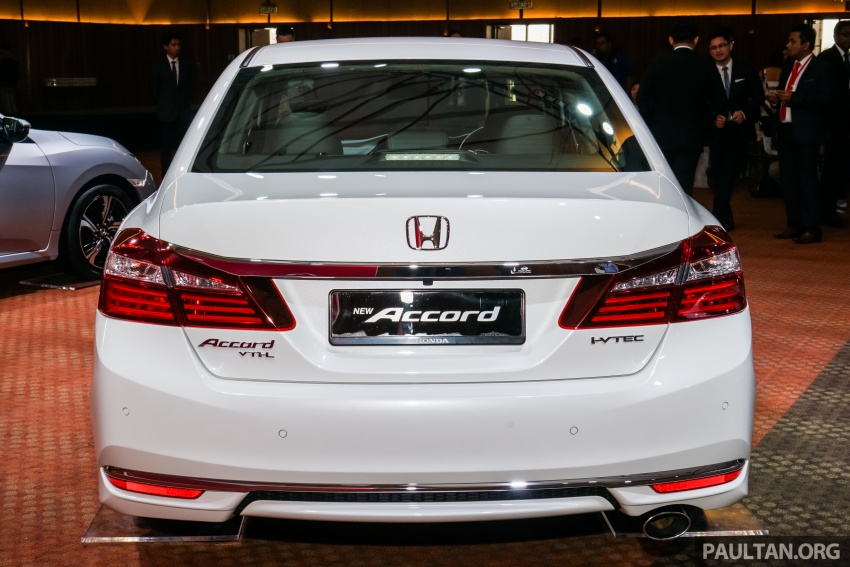 2016 Honda Accord facelift now in M'sia, from RM145k – 2.4 VTi-L now RM5k cheaper, 6 airbags across range Image #546326
