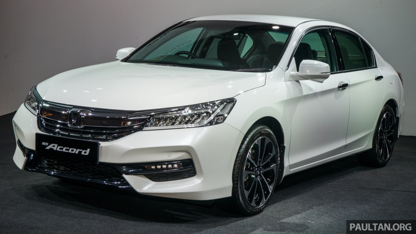 2016 Honda Accord facelift now in M'sia, from RM145k – 2.4 VTi-L now RM5k cheaper, 6 airbags across range Image #546020