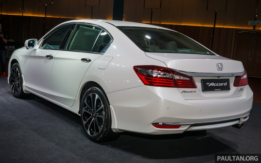 2016 Honda Accord facelift now in M'sia, from RM145k – 2.4 VTi-L now RM5k cheaper, 6 airbags across range Image #546021
