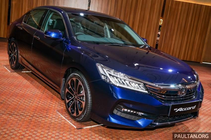 2016 Honda Accord facelift now in M'sia, from RM145k – 2.4 VTi-L now RM5k cheaper, 6 airbags across range Image #546260