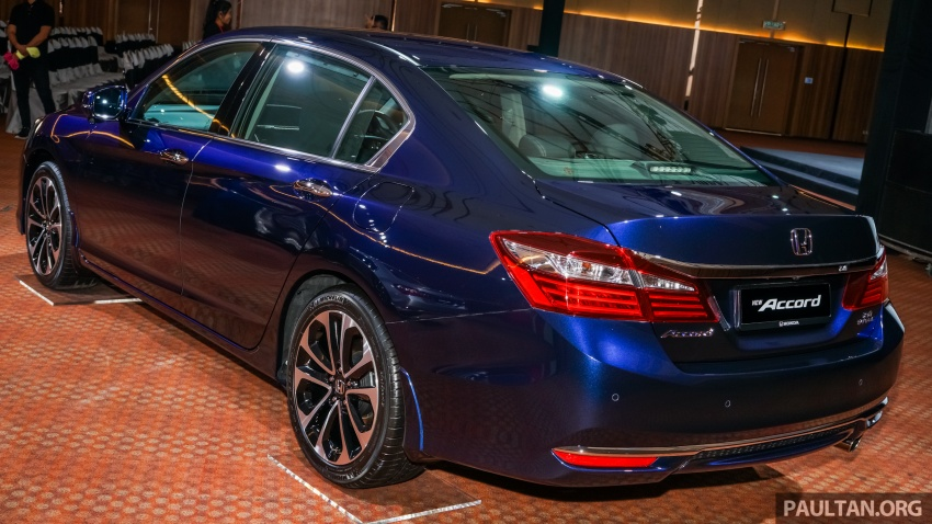 2016 Honda Accord facelift now in M'sia, from RM145k – 2.4 VTi-L now RM5k cheaper, 6 airbags across range Image #546261