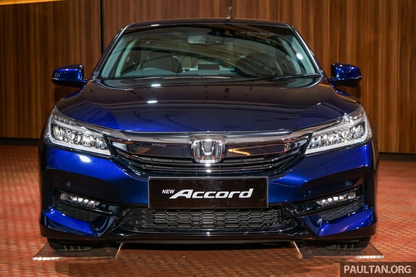 2016 Honda Accord facelift now in M'sia, from RM145k – 2.4 VTi-L now RM5k cheaper, 6 airbags across range Image #546262