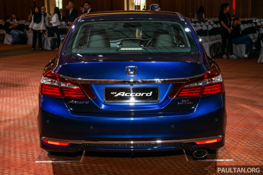 2016 Honda Accord facelift now in M'sia, from RM145k – 2.4 VTi-L now RM5k cheaper, 6 airbags across range Image #546264
