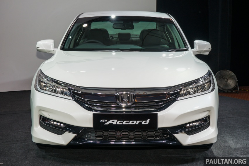 2016 Honda Accord facelift now in M'sia, from RM145k – 2.4 VTi-L now RM5k cheaper, 6 airbags across range Image #546022