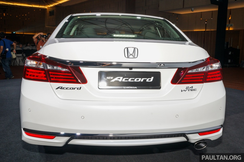 2016 Honda Accord facelift now in M'sia, from RM145k – 2.4 VTi-L now RM5k cheaper, 6 airbags across range Image #546024