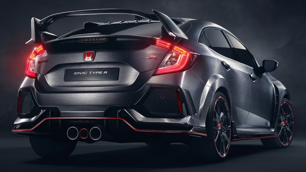 Honda Civic Type R Prototype Races To Paris Show