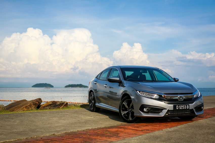 DRIVEN: 2016 Honda Civic 1.5L VTEC Turbo in Sabah – is the latest tenth-generation FC the best Civic ever? Image #546447