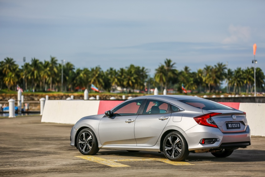 DRIVEN: 2016 Honda Civic 1.5L VTEC Turbo in Sabah – is the latest tenth-generation FC the best Civic ever? Image #546463