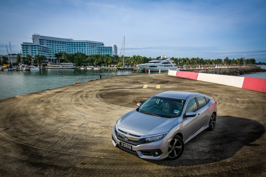 DRIVEN: 2016 Honda Civic 1.5L VTEC Turbo in Sabah – is the latest tenth-generation FC the best Civic ever? Image #546466