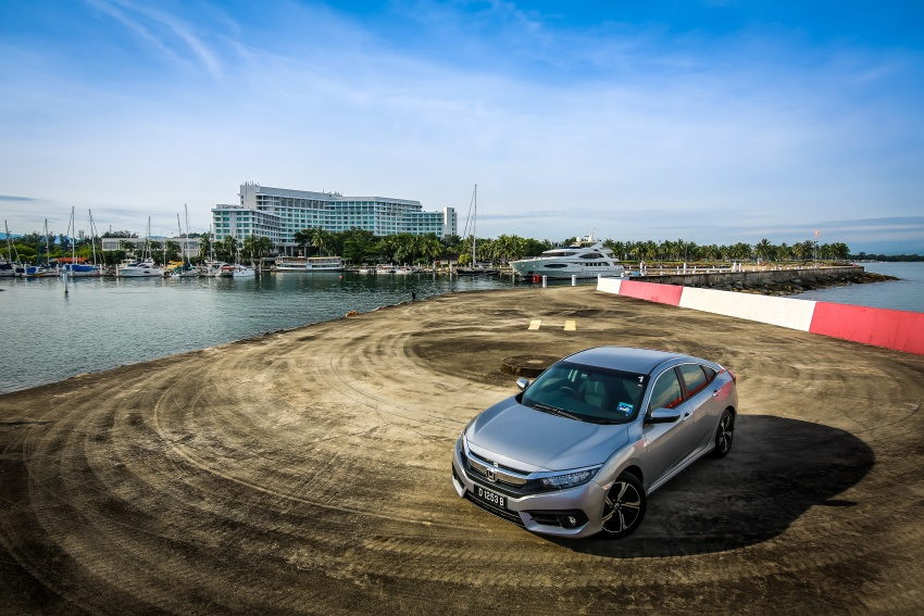 DRIVEN: 2016 Honda Civic 1.5L VTEC Turbo in Sabah – is the latest tenth-generation FC the best Civic ever? Image #546467