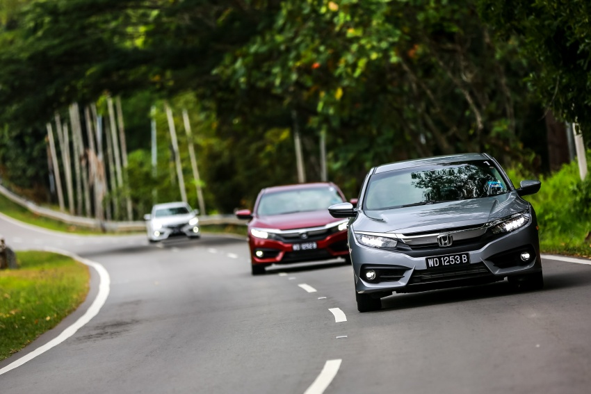 DRIVEN: 2016 Honda Civic 1.5L VTEC Turbo in Sabah – is the latest tenth-generation FC the best Civic ever? Image #546623
