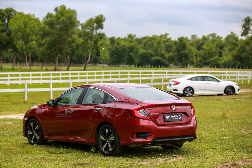 DRIVEN: 2016 Honda Civic 1.5L VTEC Turbo in Sabah – is the latest tenth-generation FC the best Civic ever? Image #546627