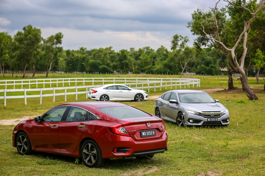DRIVEN: 2016 Honda Civic 1.5L VTEC Turbo in Sabah – is the latest tenth-generation FC the best Civic ever? Image #546628