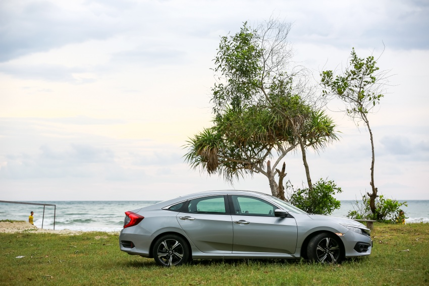 DRIVEN: 2016 Honda Civic 1.5L VTEC Turbo in Sabah – is the latest tenth-generation FC the best Civic ever? Image #546634
