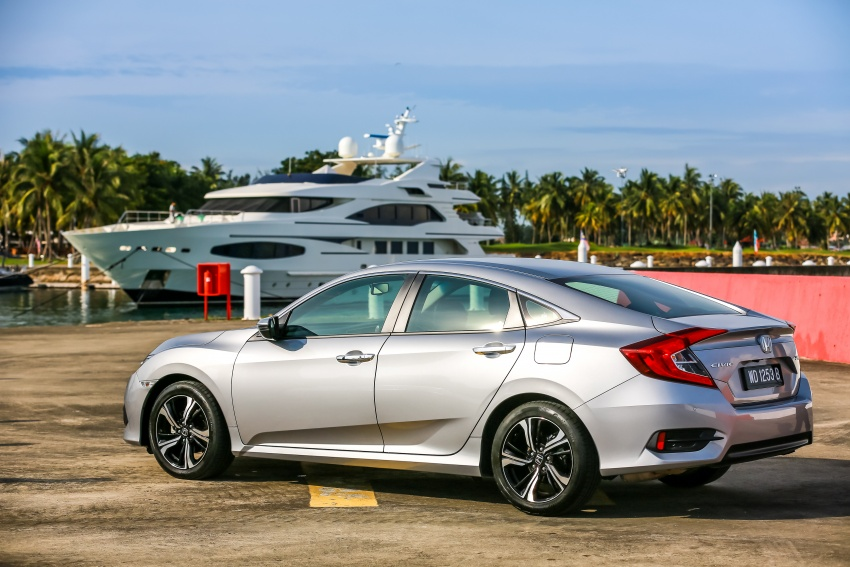 DRIVEN: 2016 Honda Civic 1.5L VTEC Turbo in Sabah – is the latest tenth-generation FC the best Civic ever? Image #546470