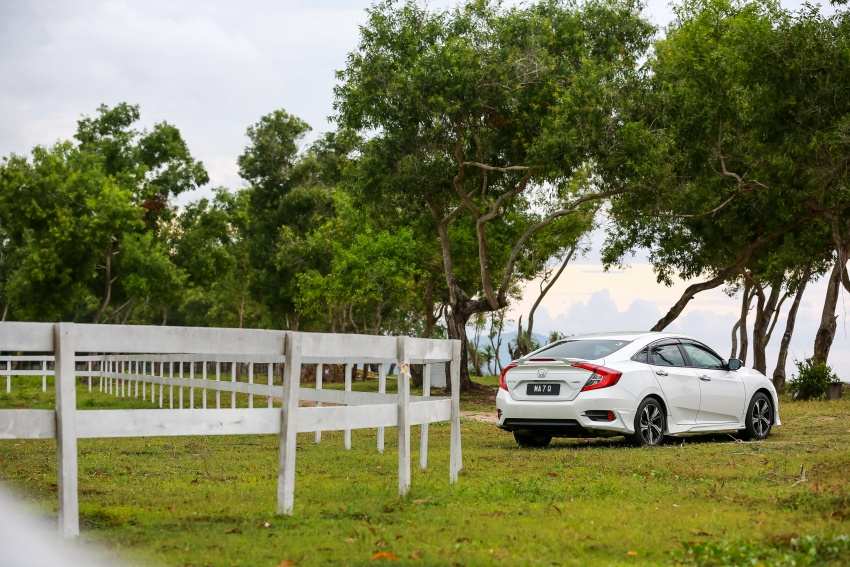 DRIVEN: 2016 Honda Civic 1.5L VTEC Turbo in Sabah – is the latest tenth-generation FC the best Civic ever? Image #546635