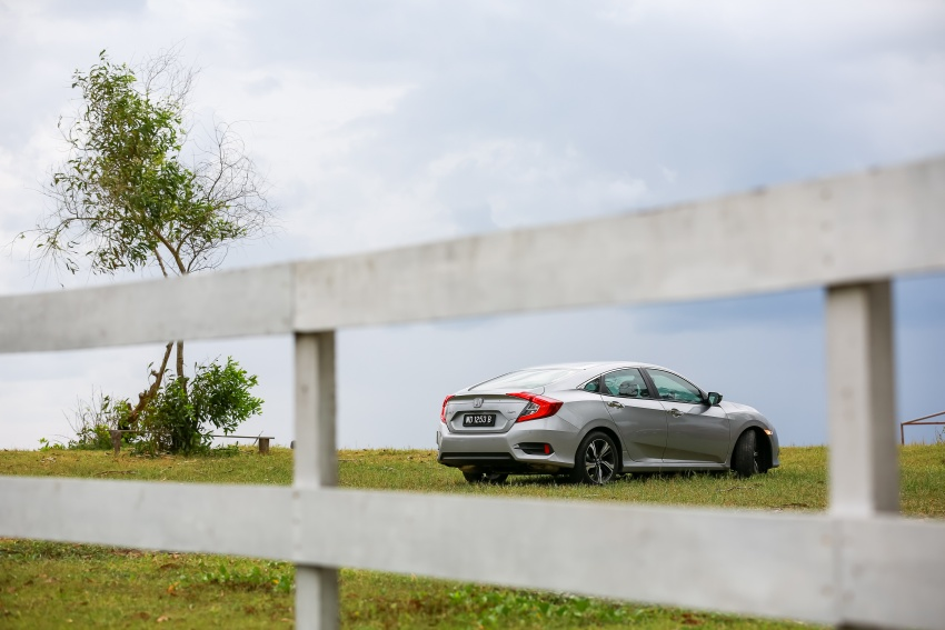 DRIVEN: 2016 Honda Civic 1.5L VTEC Turbo in Sabah – is the latest tenth-generation FC the best Civic ever? Image #546636