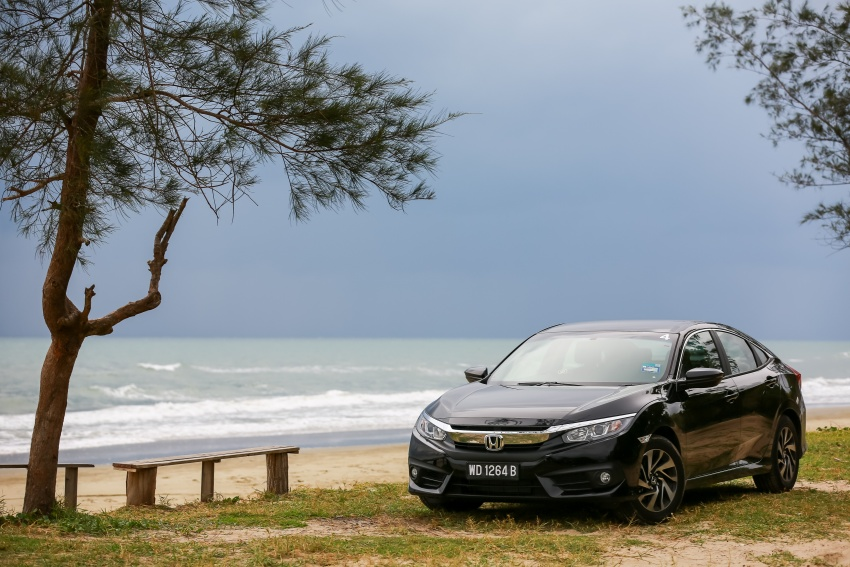 DRIVEN: 2016 Honda Civic 1.5L VTEC Turbo in Sabah – is the latest tenth-generation FC the best Civic ever? Image #546638