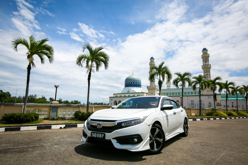 DRIVEN: 2016 Honda Civic 1.5L VTEC Turbo in Sabah – is the latest tenth-generation FC the best Civic ever? Image #546642
