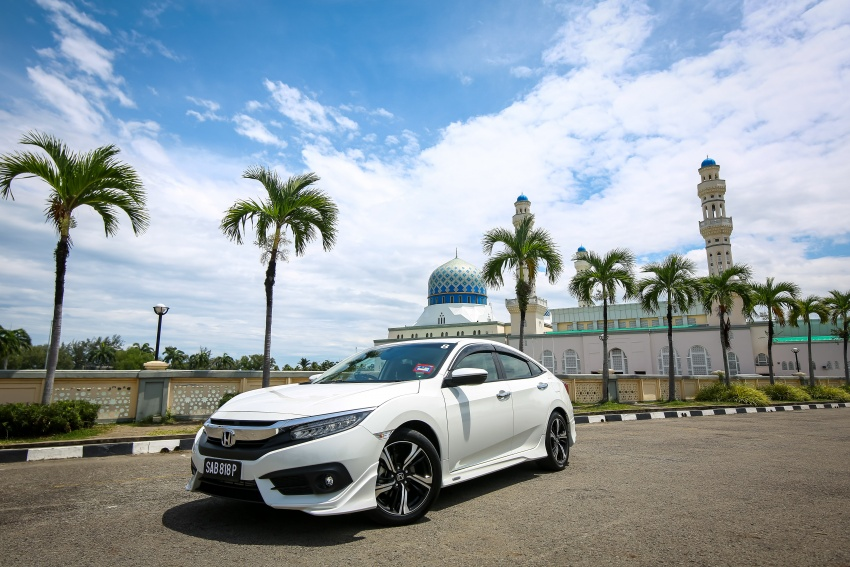 DRIVEN: 2016 Honda Civic 1.5L VTEC Turbo in Sabah – is the latest tenth-generation FC the best Civic ever? Image #546643