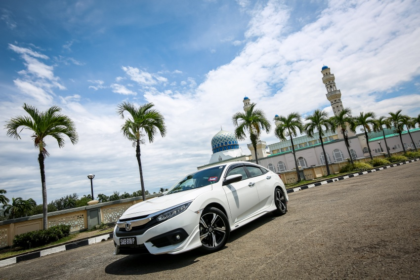 DRIVEN: 2016 Honda Civic 1.5L VTEC Turbo in Sabah – is the latest tenth-generation FC the best Civic ever? Image #546644
