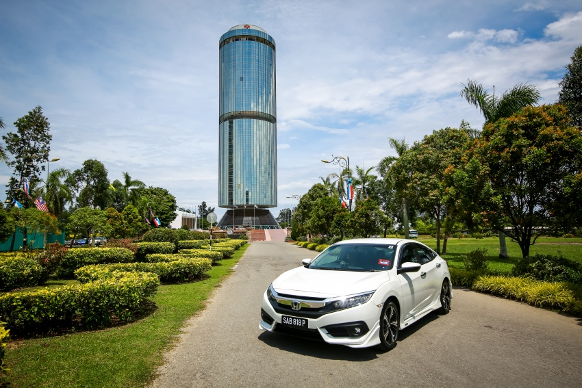 DRIVEN: 2016 Honda Civic 1.5L VTEC Turbo in Sabah – is the latest tenth-generation FC the best Civic ever? Image #546648