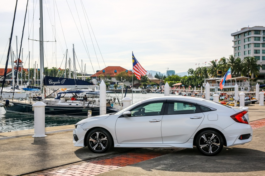 DRIVEN: 2016 Honda Civic 1.5L VTEC Turbo in Sabah – is the latest tenth-generation FC the best Civic ever? Image #546473